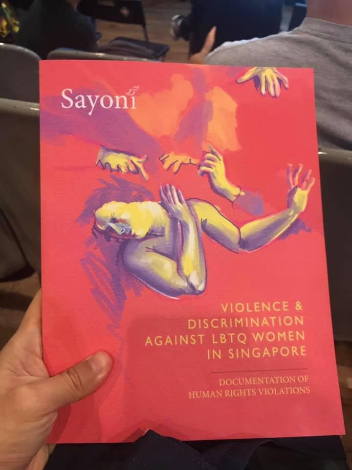 first groundbreaking report into violence and discrimination facing lbtq persons in singapore 2